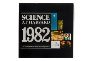 1982 calendar on science at Harvard
