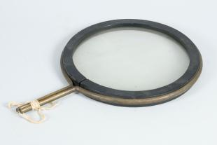 7.5-inch mounted plano-convex lens