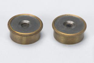 2 eyepieces with divided crystals
