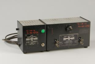 GR type 1206-B unit amplifier and type 1203-A unit power supply