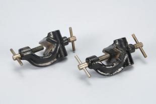 two right angle clamps