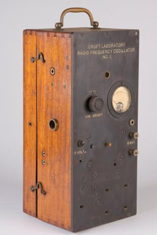 radio frequency oscillator, Cruft Lab No. 1