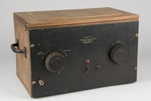 power supply for cathode ray oscillograph, type 496-B