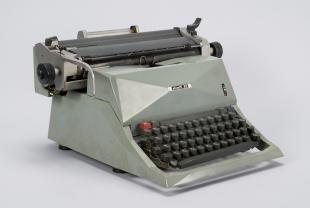 Olivetti Diaspron 82 Amharic-language manual typewriter