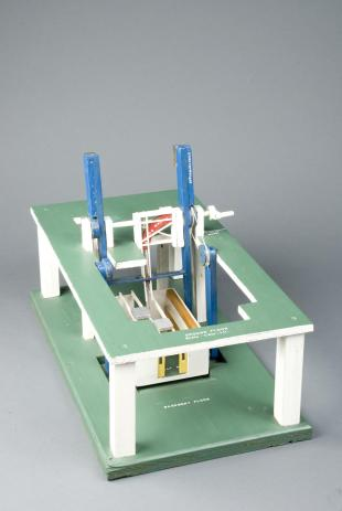 model of two-storey gantry