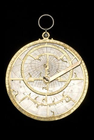 Fusoris-type planispheric astrolabe