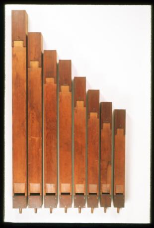 wooden organ pipe, FA 2