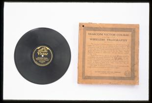 Marconi Victor course in wireless telegraphy (phonograph records)