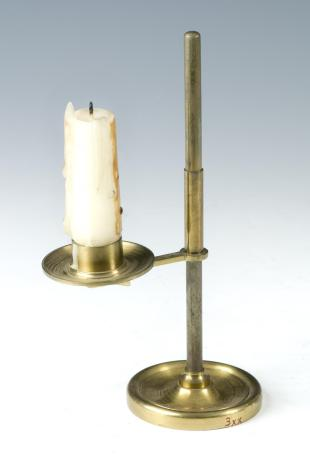 candle illuminator for microscopy
