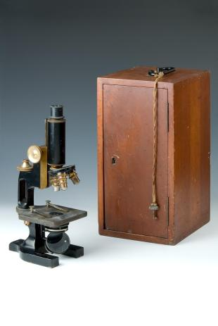 Spencer laboratory compound microscope