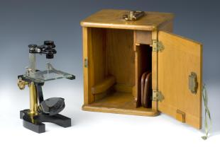 B&L Y dissecting simple microscope