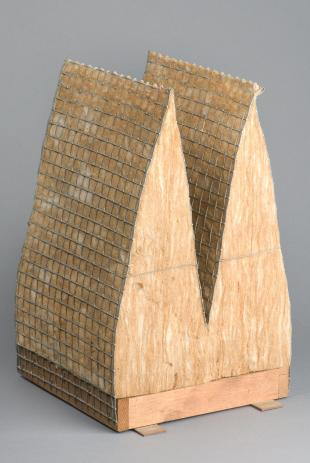 wedge sample used in an anechoic chamber