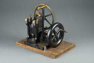 Minot-Blake-type automatic rotary microtome