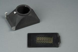 photographic plate holder for microscope