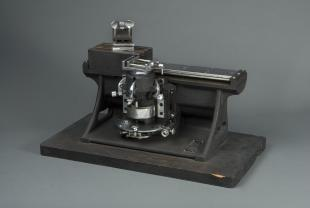 Spencer no. 860 precision sledge microtome