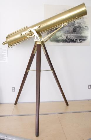 4-foot Gregorian reflecting telescope