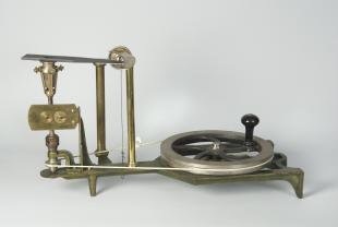 Puluj's apparatus to determine the mechanical equivalent of heat